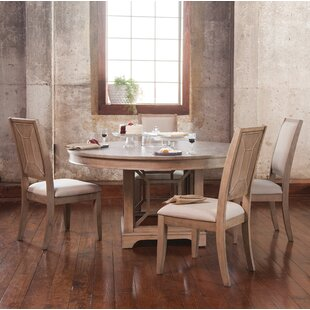 Ullrich 5 Piece Solid Wood Dining Set