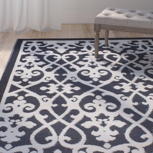 Fontayne Cream & Black Indoor/Outdoor Area Rug