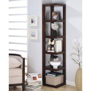 Trego Corner Unit Bookcase Red Barrel Studio