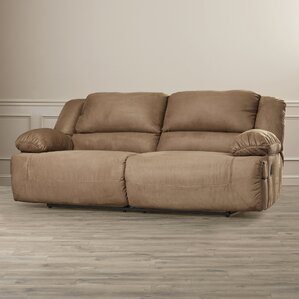 Jimenes Two Seat Reclining Sofa by Darby Home Co