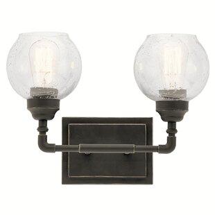 Best Price Killdeer 2-Light Vanity Light By Laurel Foundry Modern Farmhouse