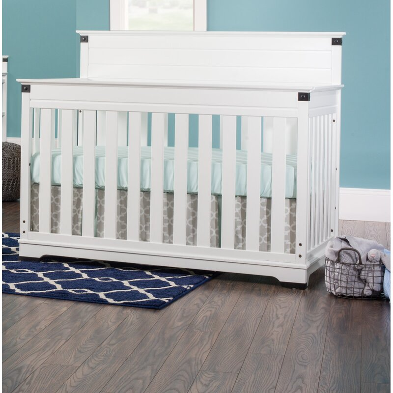 Child Craft Redmond 4 In 1 Convertible Crib Reviews Wayfair