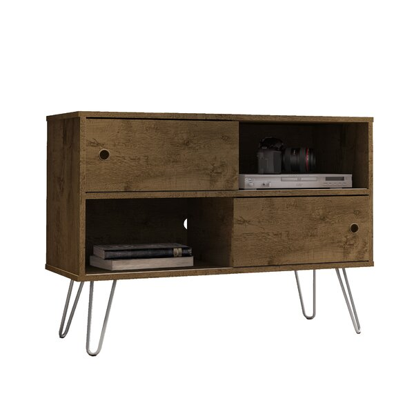 """Rustic Brown Kerby Tv Stand For T Vs Up To 40"""" by Allmodern"""