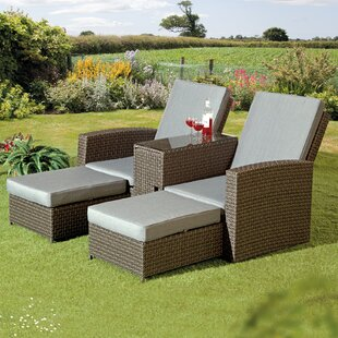 Crader Patio Chair with Cushions