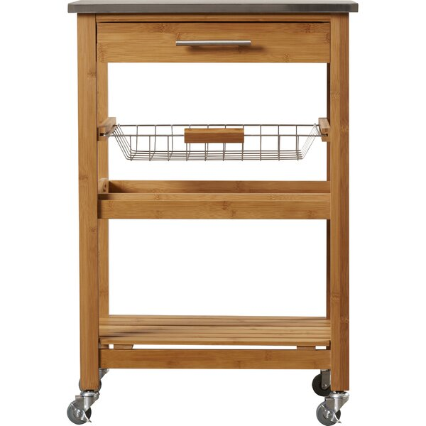 Arbor Oaks 77088: Arbor Oaks Kitchen Cart With Stainless Steel Top & Reviews