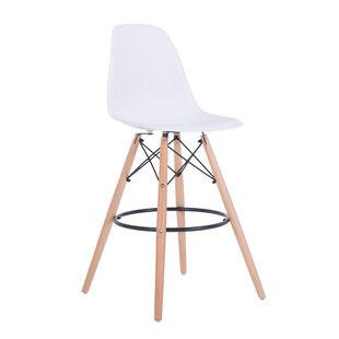 Duty 27.6 Bar Stool (Set of 2) Wrought Studio