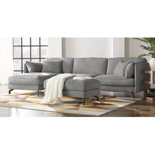 Jaxxon Two Piece Sectional with Ottoman