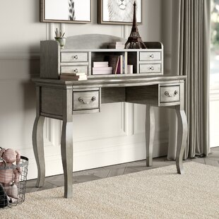 Troutdale 45 Writing Desk with Hutch by Greyleigh