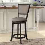 Jaques Swivel Bar & Counter Stool (Set of 2) by Gracie Oaks
