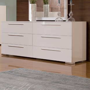 Shopping for Blasko 6 Drawer Double Dresser by Wade Logan