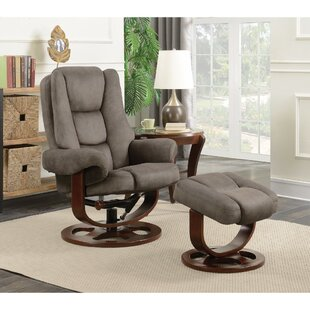 Olender Comfortably Up-Scaling Glider and Ottoman Red Barrel Studio