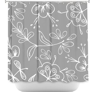 Flora Mix Single Shower Curtain