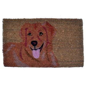 Golden Retriever Doormat