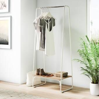 Rebrilliant Korhonen 24 75 W Garment Rack Wayfair