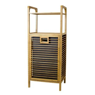 Great Price Bamboo Hamper Shelf By Highland Dunes