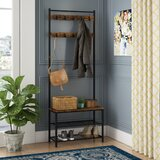 Parke Hall Tree with Shoe Storage by Williston Forge