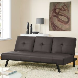 Wynn Cupholder Convertible Sofa by DHP