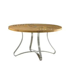 Tres Chic Steel Dining Table