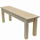 Marne Wood Bench by Highland Dunes