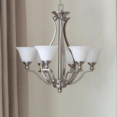 Hinkley Lighting Monroe Chandelier Polished Nickel