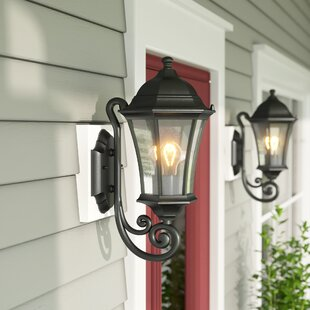 Clearance Carnanreagh 1-Light Outdoor Sconce By Astoria Grand