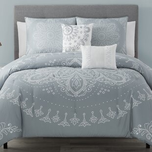 Bazemore Magical Medallion 5 Piece Comforter Set