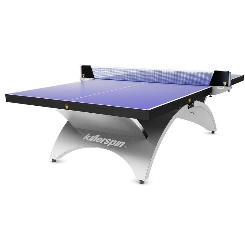 Definitely the Easiest Net /& Post Set to Assemble Killerspin Table Tennis Clip-On Net /& Post Set