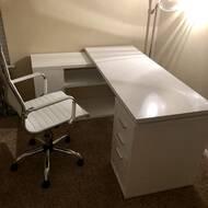 Contemporary home office angela todd Decor Helpful6 Houzz Wade Logan Alessandro Desk Chair Reviews Wayfair