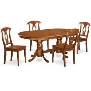 Germantown 5 Piece Extendable Dining Set DarHome Co