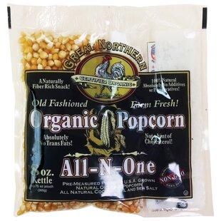 8 Oz. Organic Old Fashioned Popcorn (Set of 18)