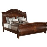 Caban Sleigh Bed by Astoria Grand