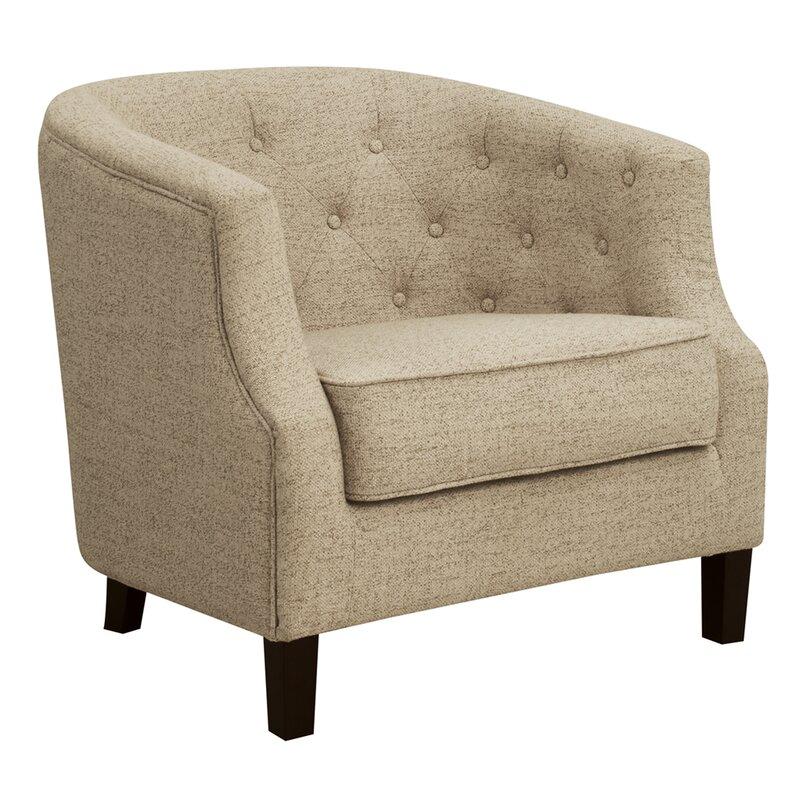 Charlton Home Sandstrom Barrel Chair Reviews Wayfair