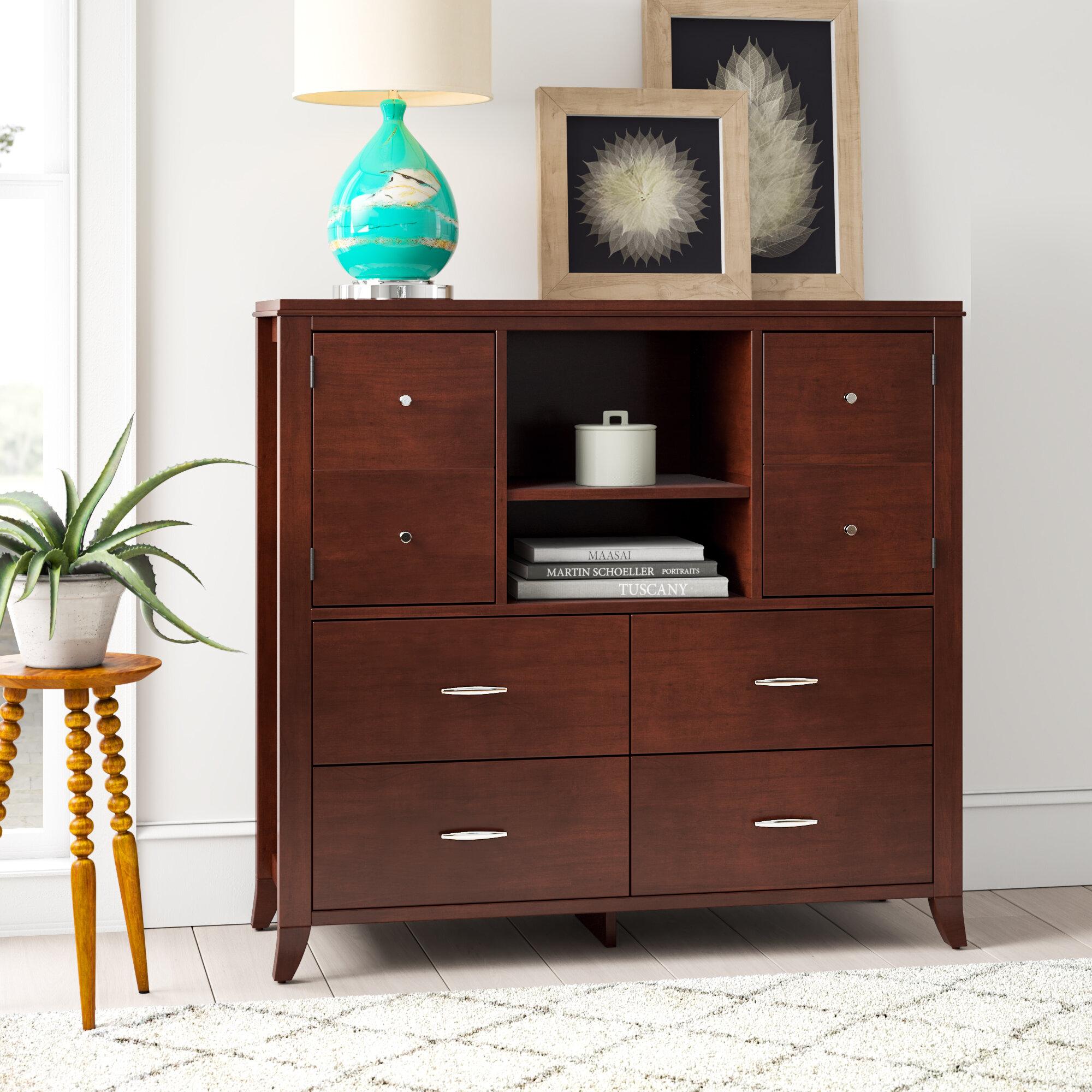 Mistana Dejon 4 Drawer Combo Dresser Reviews Wayfair