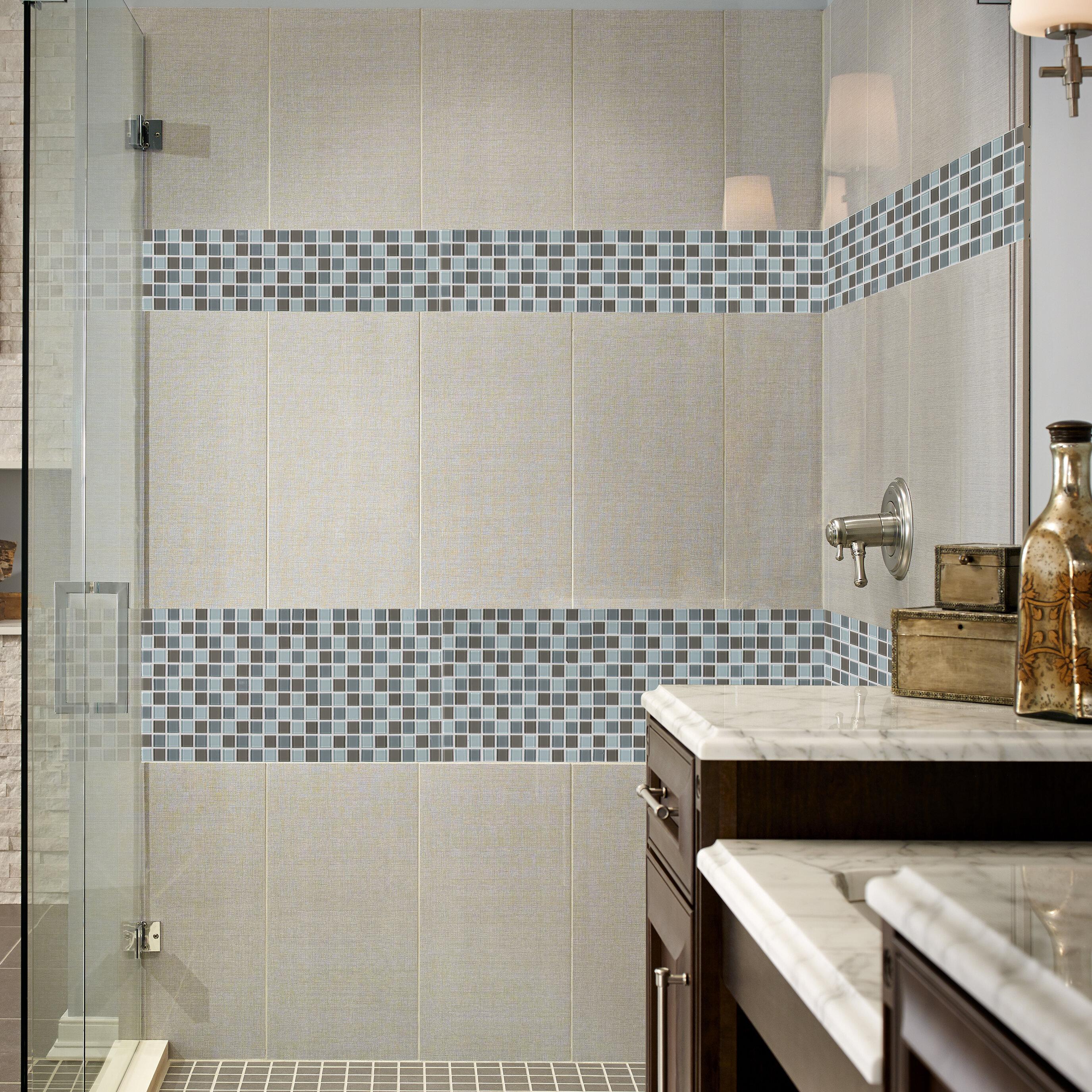 Msi Majestic Ocean 1 X 1 Mosaic Tile In White Reviews Wayfair