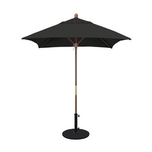 Burl 6' Square Market Umbrella