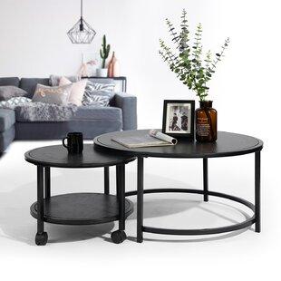 Finola 2 Piece Coffee Table Set