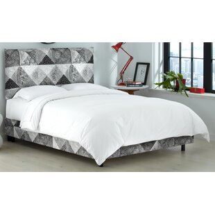 Edler Upholstered Panel Bed