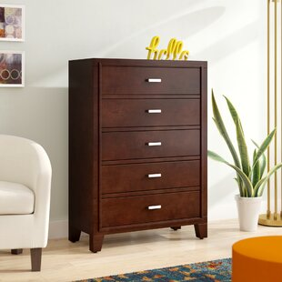 Carpino 5 Drawer Chest by Latitude Run 2019 Sale