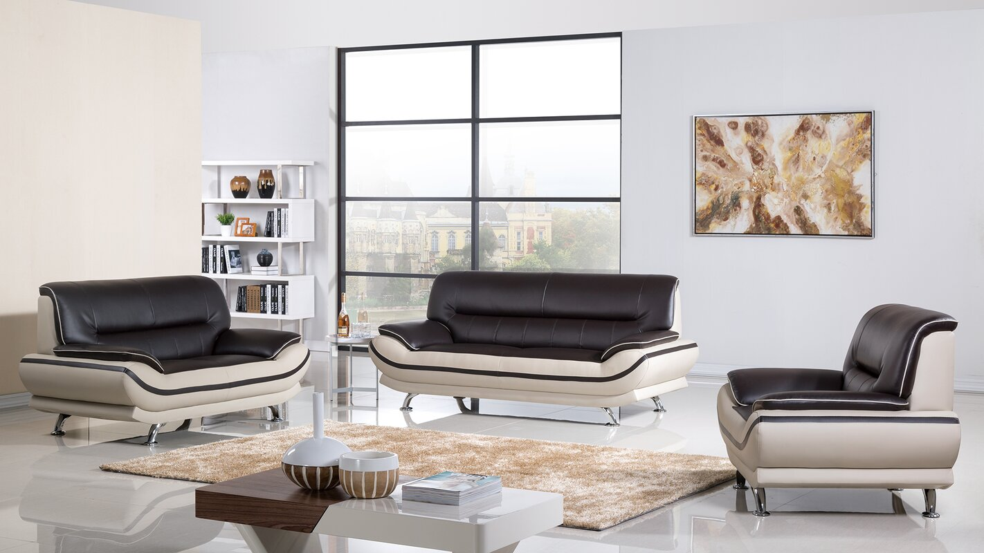 AmericanEagleInternationalTrading Mason Configurable Living Room Set ...