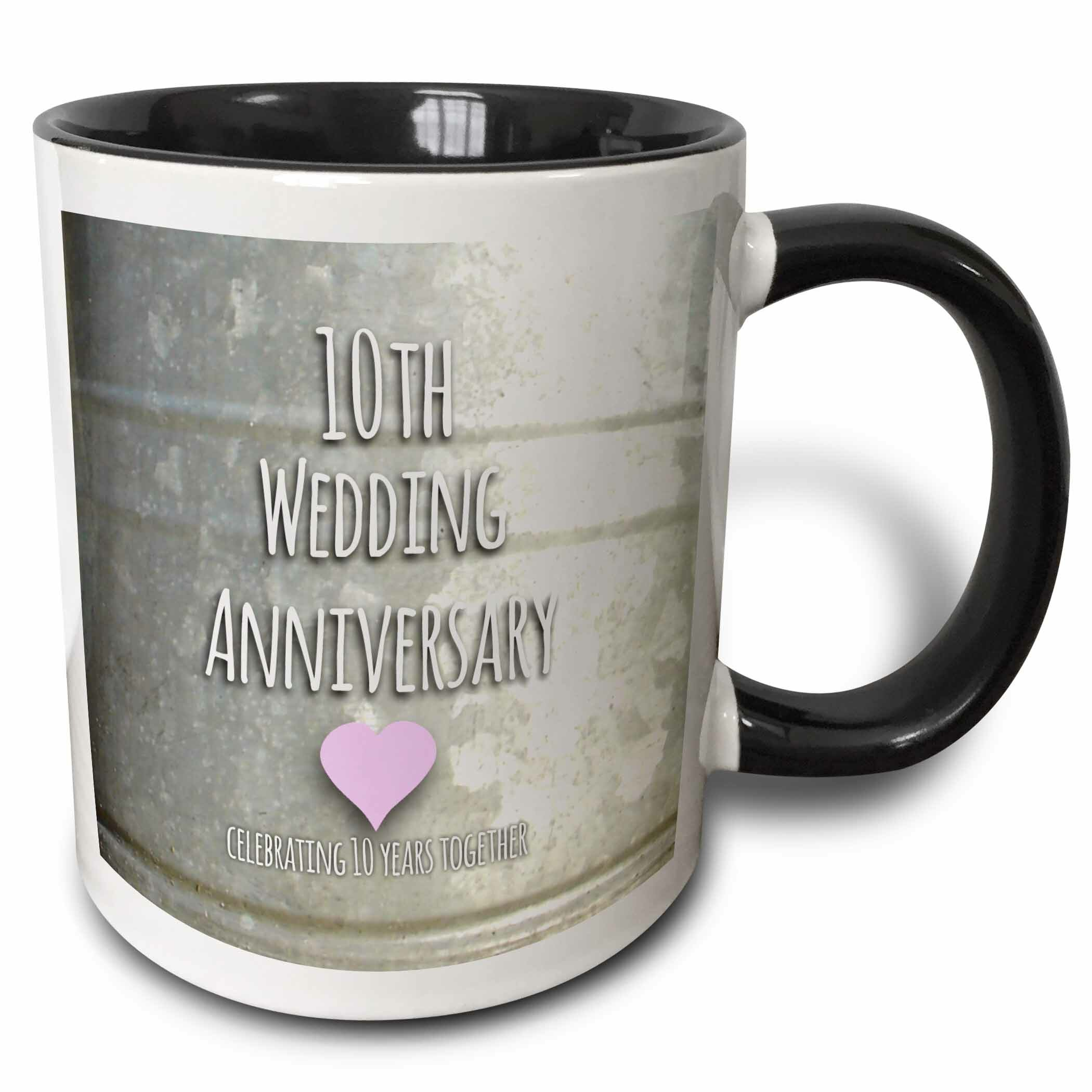 Ebern Designs Duras 10th Wedding Anniversary Gift Coffee Mug Wayfair