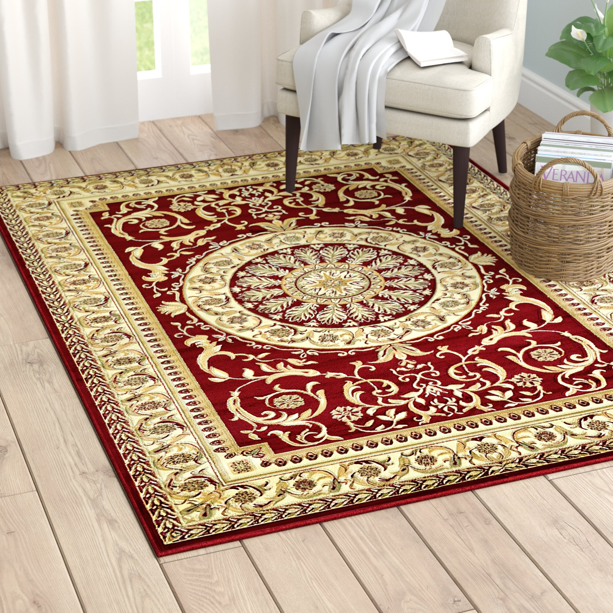 Oriental Red Area Rugs You Ll Love In 2021 Wayfair