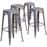 Jerome Backless Bar & Counter Stool by Trent Austin Design®