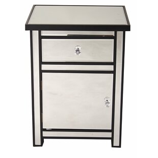 Annetta 1 Drawer 1 Door Accent Cabinet