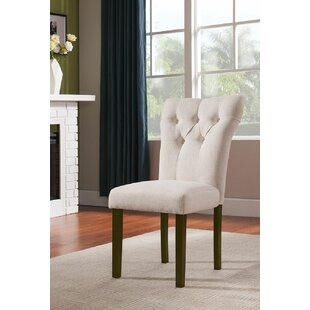 Gorge Upholstered Dining Chair (Set of 2) Charlton Home