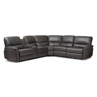 Affordable Price Polett Power Reclining Sectional with USB Ports by Latitude Run Reviews (2019) & Buyer's Guide