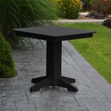 Nettie Plastic/Resin Dining Table