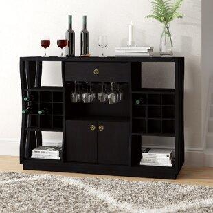 Eisley 18 Bottle Floor Wine Cabinet by Brayden Studio
