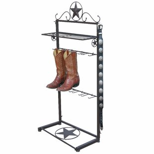 Metal Star Boot Rack By Millwood Pines