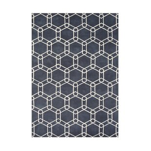 Big Save Yaquina Hand-Tufted Charcoal Area Rug By The Conestoga Trading Co.