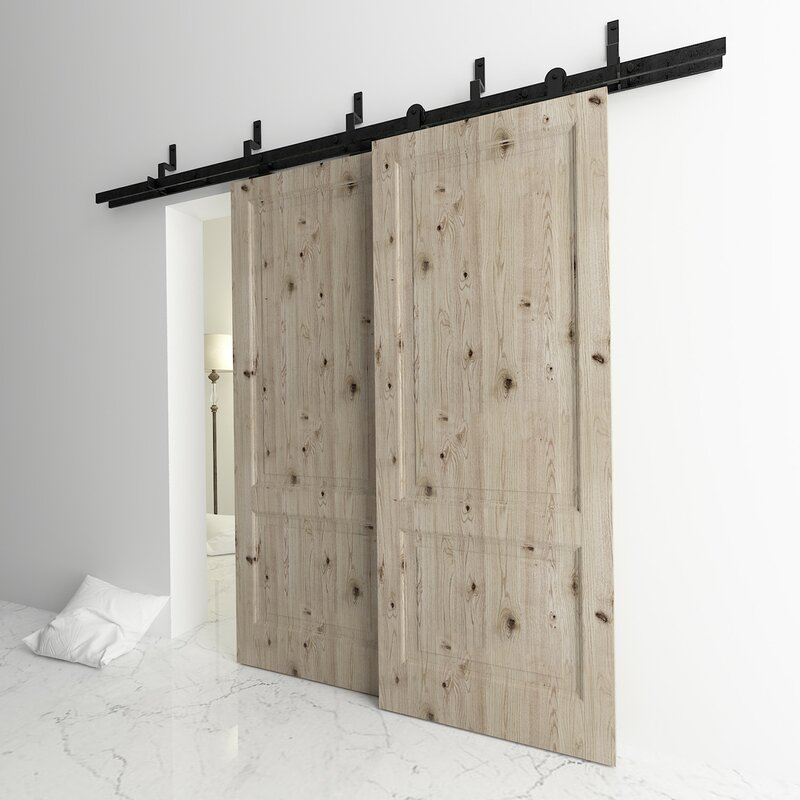 Bypass T Shape Z Bracket Barn Door Hardware